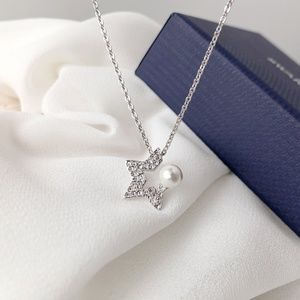 Swarovski Jewelry - Swarovski 925 Sterling Silver Pendant Necklace